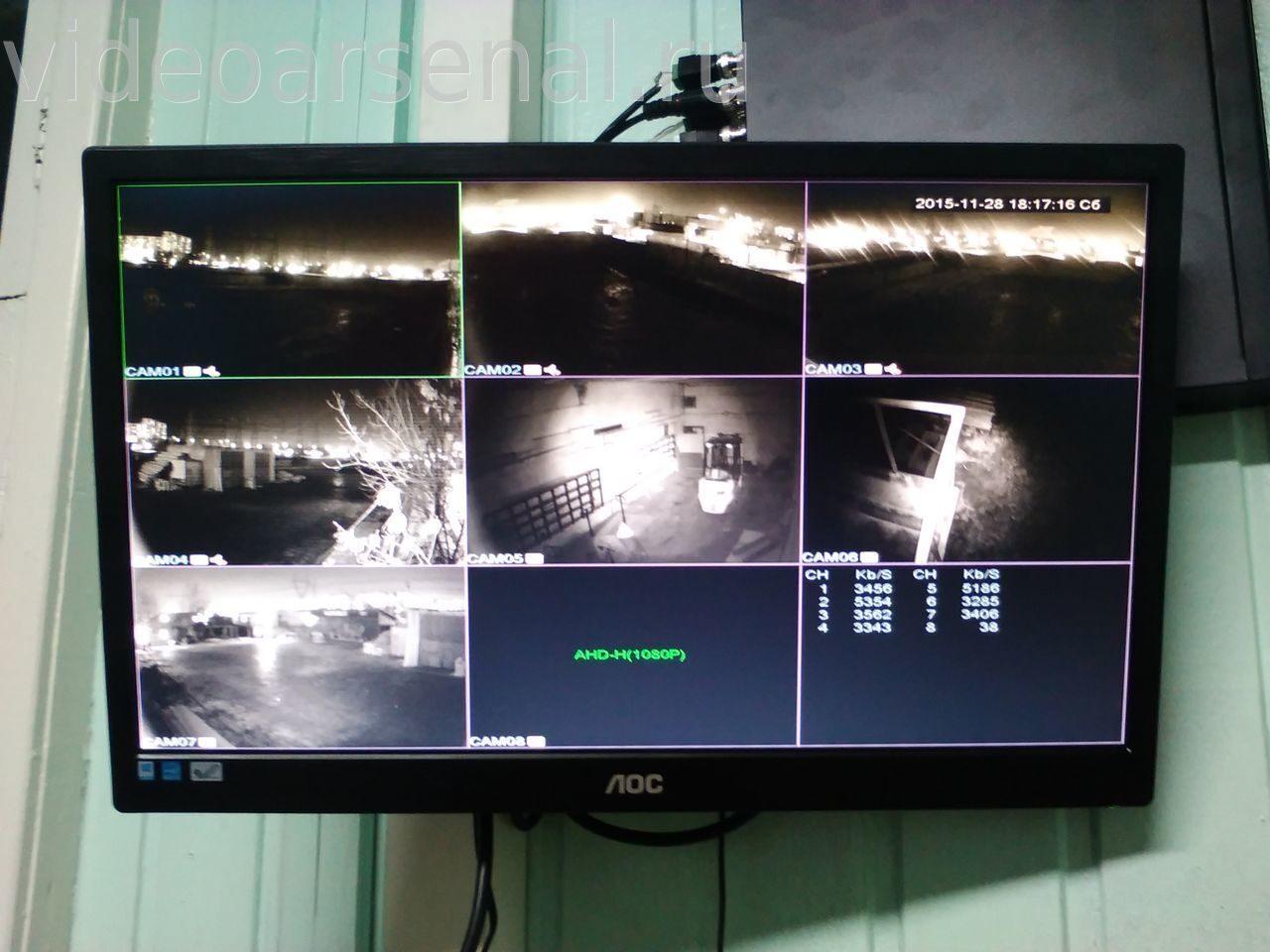 постоянно перезагружается монитор камер видеонаблюдения